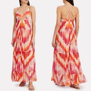 Rococo Sand Tie Dye Chiffon Maxi Dress